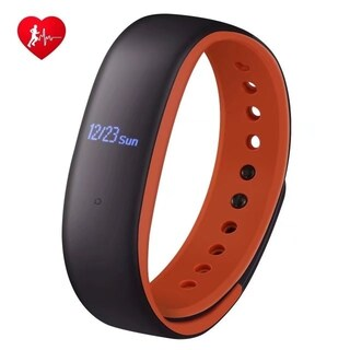 Fitness Tracker with Heart Rate Monitor, Activity Tracker Step Counter with Magnetic Suction Charging Cable