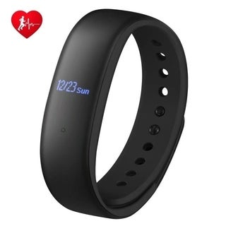 Fitness Tracker with Heart Rate Monitor, Activity Tracker Step Counter with Magnetic Suction Charging Cable - N/A (2 options available)