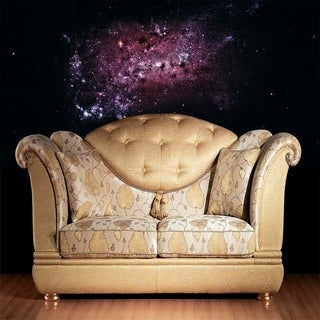 """Stars Universe Full Color Wall Decal Sticker AN-615 FRST Size 52""""x80"""""""