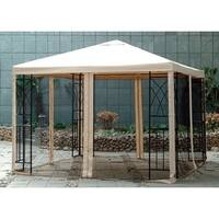 Sunjoy Replacement Canopy for L-GZ105PST-10 10X10 Tivoli Gazebo