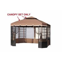 Sunjoy Replacement Canopy Set(09 Spring) for L-GZ120PST-2 Bay Window Gazebo