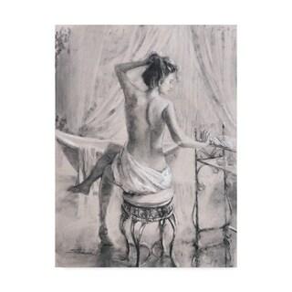 Steve Henderson 'After The Bath' Canvas Art
