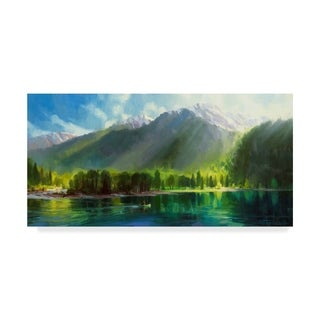 Steve Henderson 'Peace' Canvas Art