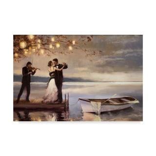 Steve Henderson 'Twilight Romance' Canvas Art