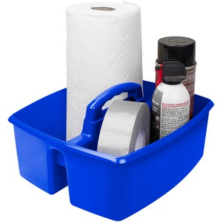 Storex Large Caddy, Blue (6 units/pack)