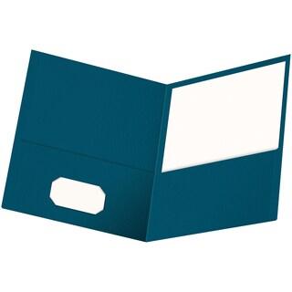 Oxford Twin Pocket Folders 25/Pkg