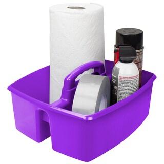 Storex Large Caddy, Purple (6 units/pack)