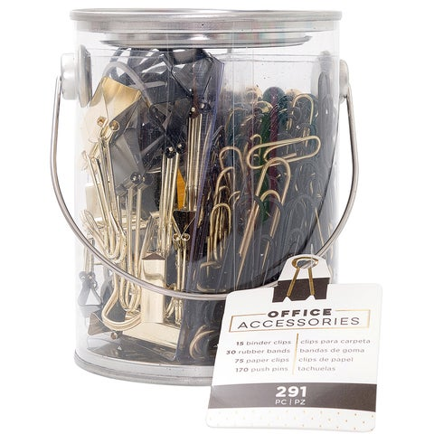 American Crafts Office Bucket Accessory Set 291/Pkg