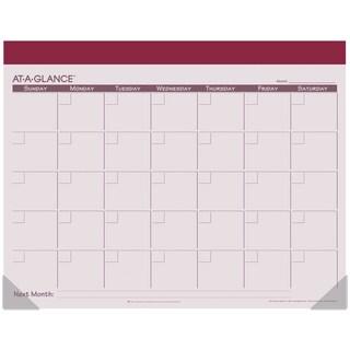 "AT-A-GLANCE Undated Fashion Color Desk Pad 22""X17"""