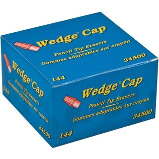 Dixon Wedge Pencil Cap Erasers 144/Pkg