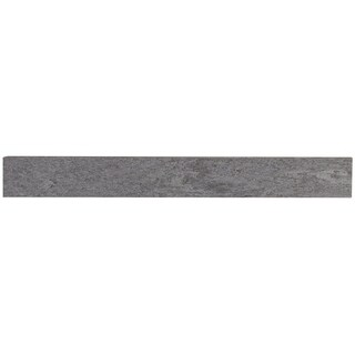 Quartzite Inspired 3x24-inch Bullnose in Global Gray - 3x24