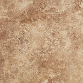 Glazed Porcelain 20x20-inch Stone Look Field Tile in Noce - 20x20