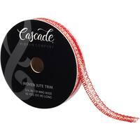 """Cascade Woven Jute Trim 3/4""""X10yd"""