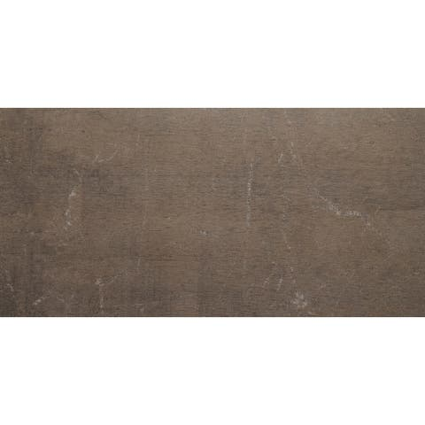 Stained Concrete Effect 12x24-inch Unpolished Floor Tile in Midnight - 12x24