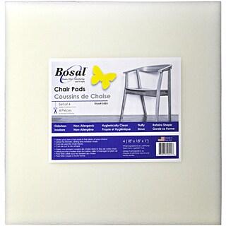 """Bosal Foam Chair Pad 18""""X18""""X1"""" 4/Pkg"""