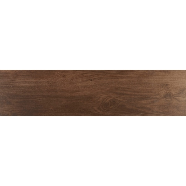 Shop Sophisticated Wood Look 9x36 Inch Porcelain Floor Tile In
