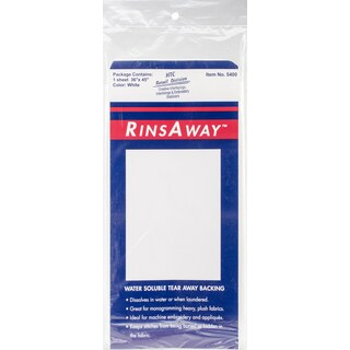 HTC RinsAway Water-Soluble Backing