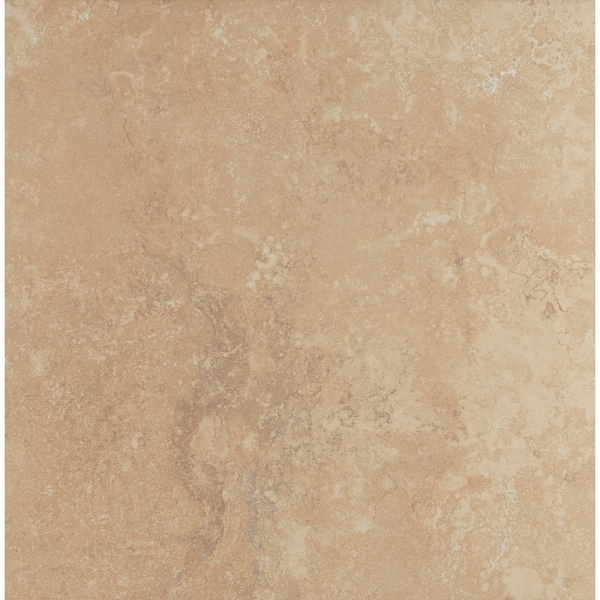 Shop Natural Stone Visual 18x18 Inch Ceramic Floor Tile In Acacia