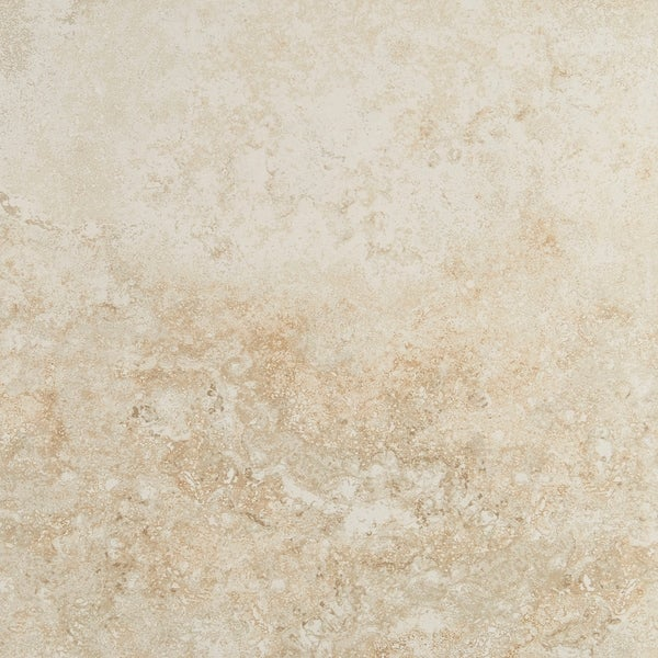 Shop Travertine Visual Porcelain 18x18 Inch Cross Cut
