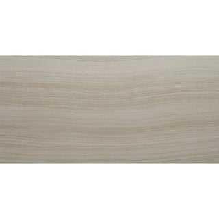 Contemporary Wood & Fabric Visual 12x24-inch Porcelain Field Tile in Chiaro - 12x24