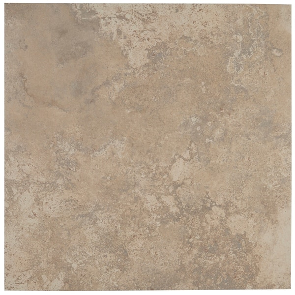 Shop Travertine Replica 18x18 Inch Ceramic Floor Tile In Dorian Grey 18x18 Overstock 20772096 Sample