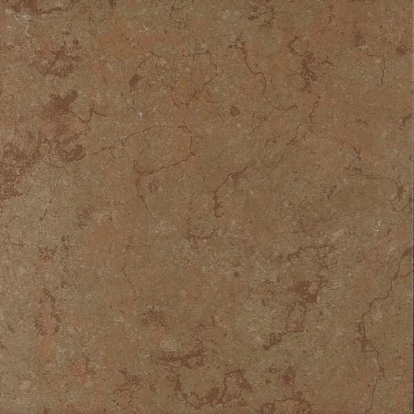Shop Light Rustic Glazed 12x12 Inch Ceramic Field Tile In Warm Green