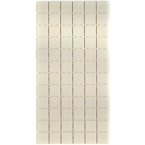 Porcelain 2x2-inch Mosaic Tile in Biscuit - 12x24