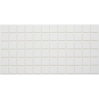 Porcelain 2x2-inch Mosaic Tile in Arctic White - 12x24