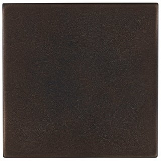 Cast Metal Collection 4-1/4x4-1/4-inch Accent Tile in Antique Bronze - 4x4