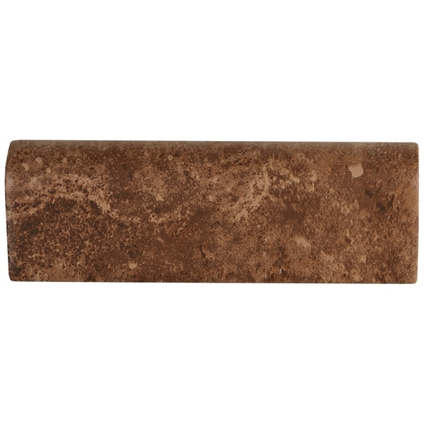 Rustic Style 2x6-inch Ceramic Bullnose in Edgewood - 2X6. Opens flyout.