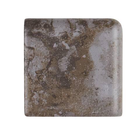 Rustic Style 2x2-inch Ceramic Bullnose in Ashland - 2x2