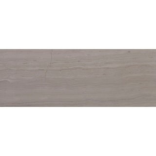 Limestone 3x8-inch Honed Vein Cut in Chenille White - 3x8