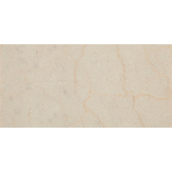 Marble 3x6-inch Honed Field Tile in Crema Marfil Classico - 3x6. Opens flyout.