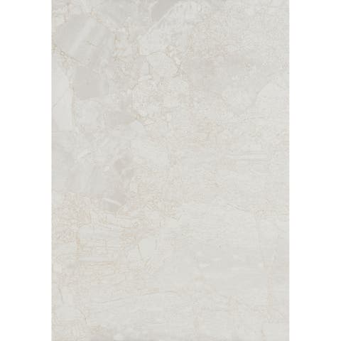 Marble Stone Visual 10x14-inch Ceramic Wall Tile in White Water - 10x14