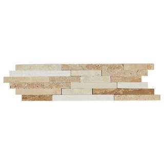 Travertine Replica 2x9-inch Universal Decorative Accent - 2x9