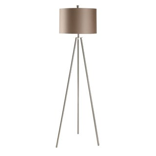 Sabra Brushed Nickel 60-inch Floor Lamp