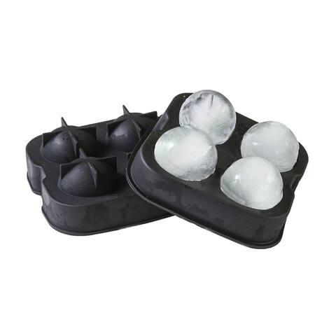 Vino Ninja Four Compartment Ice Ball Tray