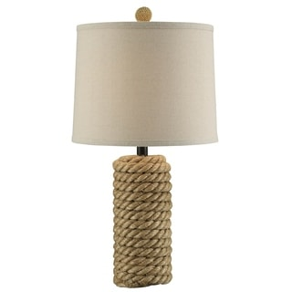 Link to Rope Bolt 25.5-inch Table Lamp Similar Items in Table Lamps