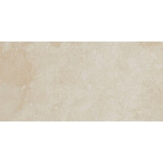 Travertine Stone Tile 3x6-inch Polished in Mediterranean Ivory - 3x6