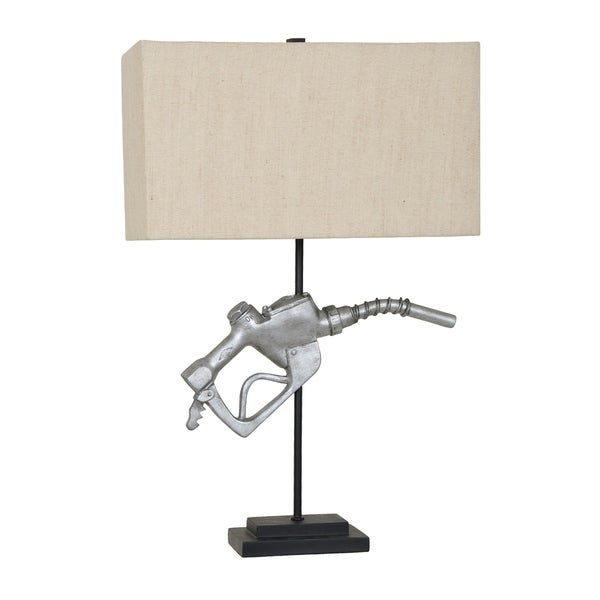 Fuel Old Metal and Black 28-inch Table Lamp