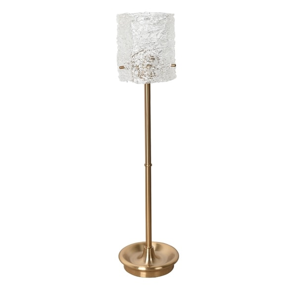 Boulevard Soft Brass 32-inch Uplight Table Lamp