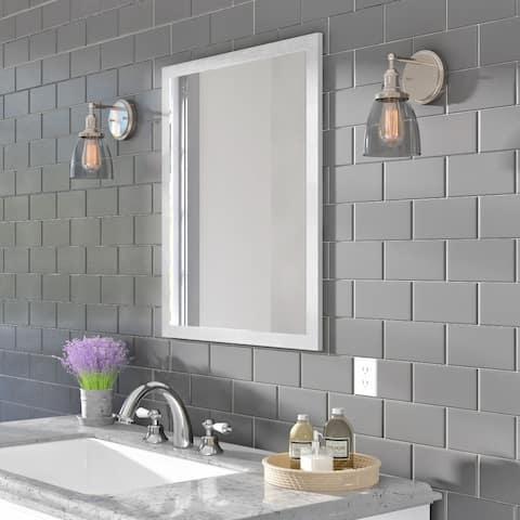 Classic Ceramic 3x6-inch Wall Tile in Matte Desert Gray - 3x6