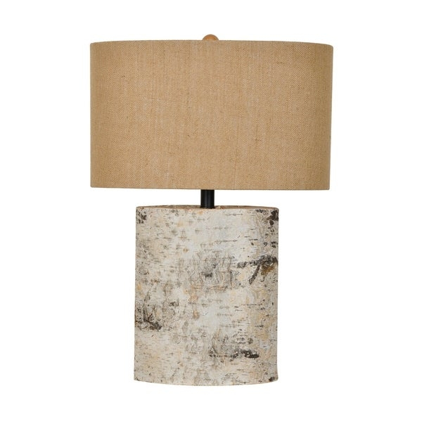 Birch Wood 24.5-inch Table Lamp