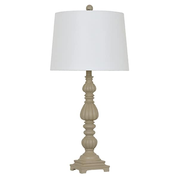 Beige 30-inch Table Lamp
