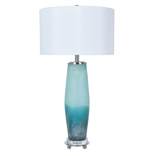 Seaside Frosted Sea 33-inch Table Lamp