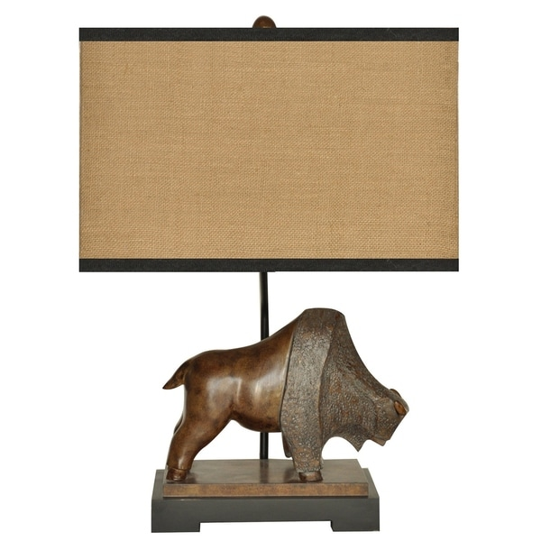 Range Antique Bronze 25.5-inch Table Lamp