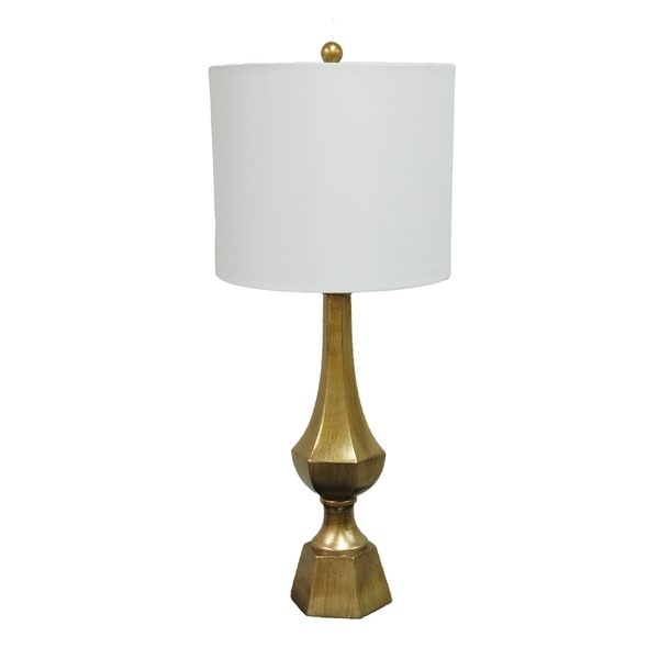 Gold Leaf 36-inch Table Lamp