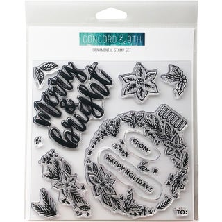 """Concord & 9th Clear Stamps 6""""X6"""""""