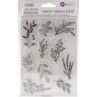 "Iron Orchid Designs Decor Clear Stamps 5""X7"""