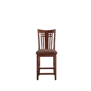 Jamie Cappuccino Brown Wood 3 Piece Pub Set